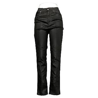 DG2 by Diane Gilman Women's Jeans 6T Tall Stretch Skinny Black 679811