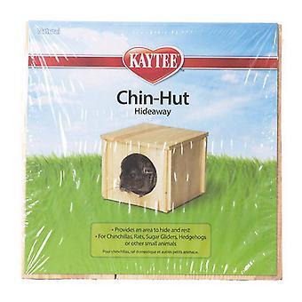 """Kaytee Chin Hut - 8""""L x 8""""W x 6.25""""H"""