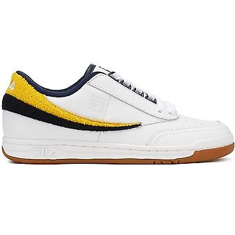 Fila Mens Original Tennis Varsity nahka matala top pitsi up tennis kengät