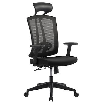Matrex Ergonomic Home Office Chair With Headrest, Adjustable Armrest And Lumbar Support