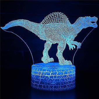3D Illusion Lampe 7 Farben Optische Veränderung Touch Licht USB und Fernbedienung Art Deco machen eine romantische