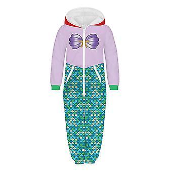 Halloween Kids Boy Girl 3d Painettu Jumpsuit Loungewear Leikkipuku Pyjama