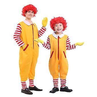 Clown Costume, Christmas Child Adult Cosplay Costume, Christmas Decoration
