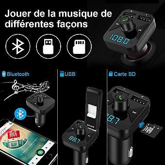 Fm Transmitter Wireless Radio Car Receiver Bluetooth Adapter