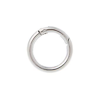 Round Ring Circle Spring Snap For Diy Keyring Hook Bag Buckle Handbag Purse