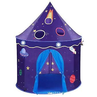 الأطفال قابلة للطي لعب خيمة البيت، خيمة قلعة الفضاء، الأطفال منزل اللعب في الأماكن المغلقة، والألعاب الإبداعية وأكياس هدية