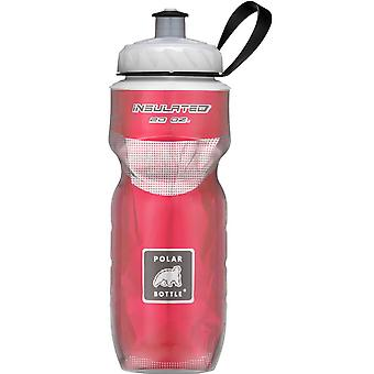 Polar flaske Sport isolert 20 oz vannflaske - rød