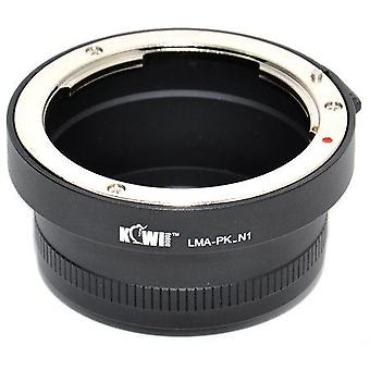 Kiwifotos Lens Mount Adapter: Allows Pentax K-Mount Bayonet Lenses to be used on any Nikon 1 Series mirrorless camera