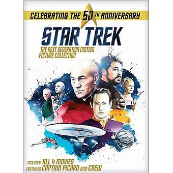 Star Trek: Nästa Generation Motion Picture Coll [DVD] USA import