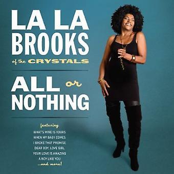La La Brooks - All or Nothing [CD] USA import