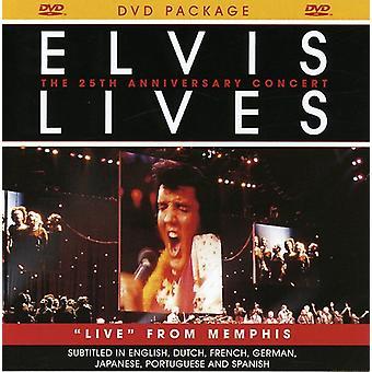 Elvis Presley - Elvis Lives-Live From Memphis [DVD] USA import