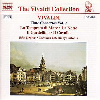 A. Vivaldi - Vivaldi: Fløyte konserter, Vol. 2 [DVD] USA import