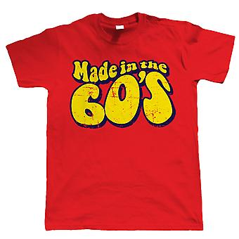 Made In The 60s, Mens Funny 50th Birthday T Shirt