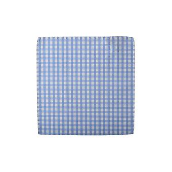 Knightsbridge Gingham Silk Pocket Square