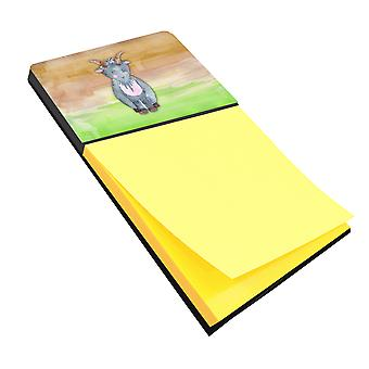 Carolines Treasures  BB7413SN Goat Watercolor Sticky Note Holder