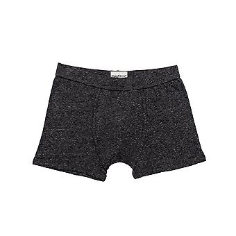 Original Eskimo 04.44.91113 Men's Classic Heather Dark Grey Cotton Fitted Boxers 2 Pack