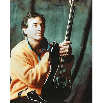 Ry Cooder Studio Photo - Holding his Guitar (8 x 10)