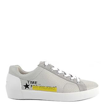Ash Footwear Next Pearl Textured Leather Trainer