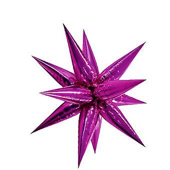 Unik Party 70cm Supershape Pink Starburst ballong