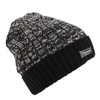 Взрослых унисекс тепловой два тона Зимняя шапка