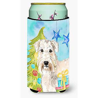 Weihnachtsbaum Wheaten Terrier großer Junge Getränk Isolator Hugger