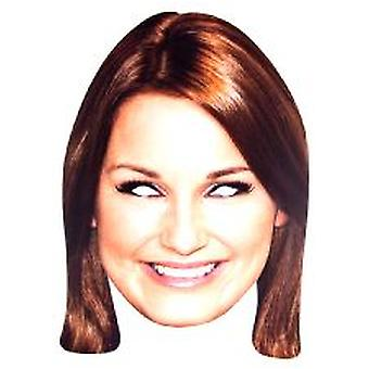 Towie Star Sam Faiers Face Mask