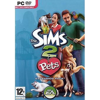 Die Sims 2 Haustiere Erweiterungspaket (PC DVD) - Neu