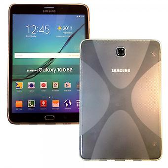 Silicone case pour Samsung Galaxy tab S2 transparente 8.0 T710 T715N
