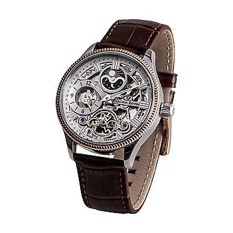 Carl of Zeyten men's watch wristwatch automatic Kirnberger Bach CVZ0034RWH