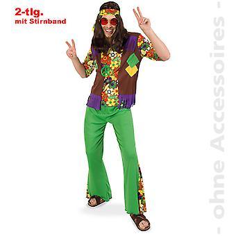Hippie 60s menns hippie drakt drakt av flower power Mr drakt