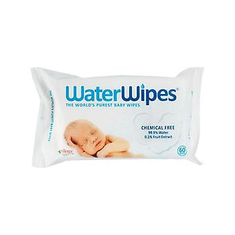 WaterWipes 60 Wipes Chemical Free