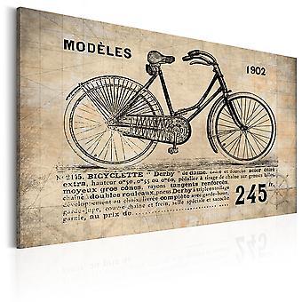 Vászon Print-N 1245-biciklisták