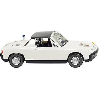 Wiking 0864 37 H0 Porsche 914 VW POLICE NRW