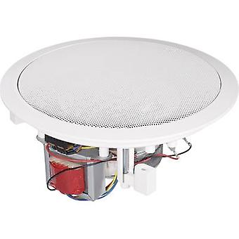Renkforce CL-165RT PA recessed speaker 80 W 100 V White 1 pc(s)