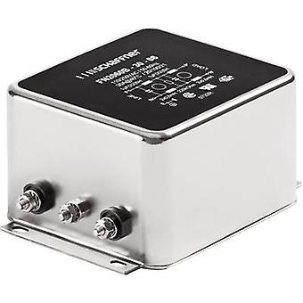 Schaffner FN 2060-6-06 EMI filter 250 V AC 6 A 0.97 mH (W x H) 71 mm x 46.6 mm 1 pc(s)