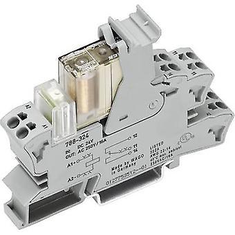 Veiligheidsrelais 788-384 WAGO bedrijfsspanning: 24 V DC 2 wisselstroom (b x H x D) 15 x 64 x 86 mm 1 PC (s)