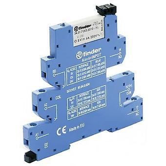 Finder 39.41.0.024.5060-1 - MasterINPUT Electromechanical Relay Interface Module, EMR, SPDT-CO 250V AC 6A