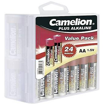 AA battery Alkali-manganese Camelion Plus LR06 2800 mAh 1.5 V 24 pc(s)