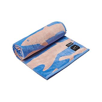 Slowtide Sea Life Beach Towel in Blue