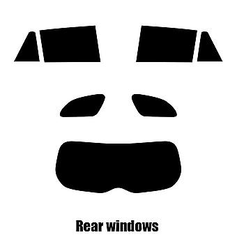 Pré corte matiz de janela - janelas de traseira Toyota Avensis Estate - 2009 e mais recentes-