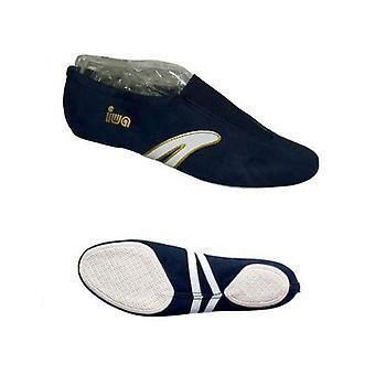 » IWA-499 «draai ballet slippers / kunst-sneakers / gym schoenen, Marine.