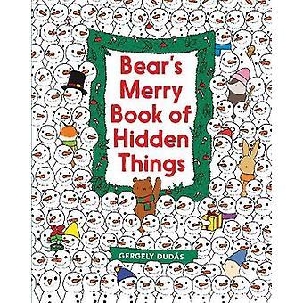 Björnens munter bok av dolda saker - Christmas Sök- och -hitta av Gerge