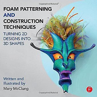 Structuration et Techniques de Construction en mousse: transformer des dessins 2D en formes 3D
