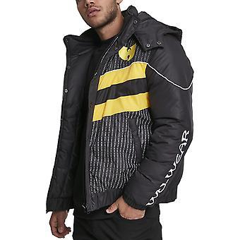 Wu-wear hip hop buffer winter jacket black