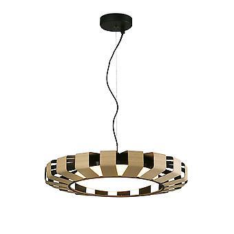Faro - Pauline Wood Dimmable LED pendentif FARO20100