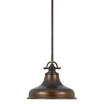 Emery Palladian Bronze Pendant - Elstead Lighting Qz / Emery / P / M PN
