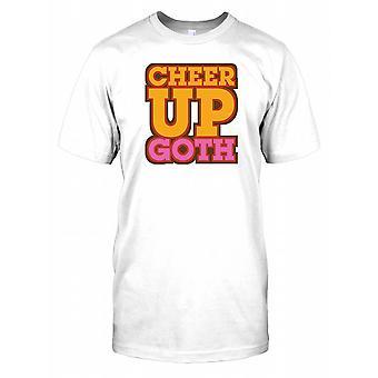 Cheer Up Goth - sjove citerer Herre T-shirt