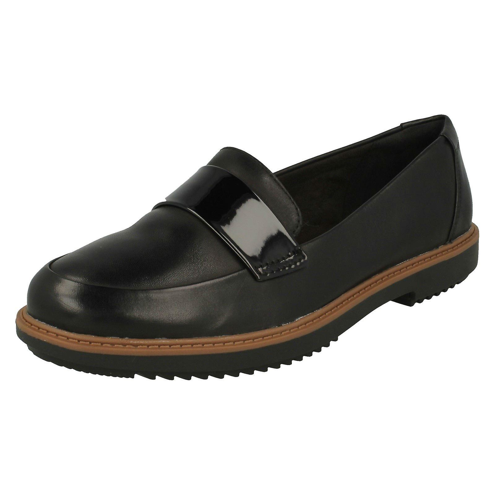 Clarks damskie płaskie nierób stylu buty Raisie Arlie iOUFM