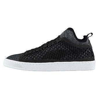 Puma Mens Basket Classic Netted Trainers