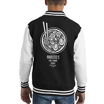 The Ramen Clothing Company Harutos Fine Ramen Bowl Kid's Varsity Jacket